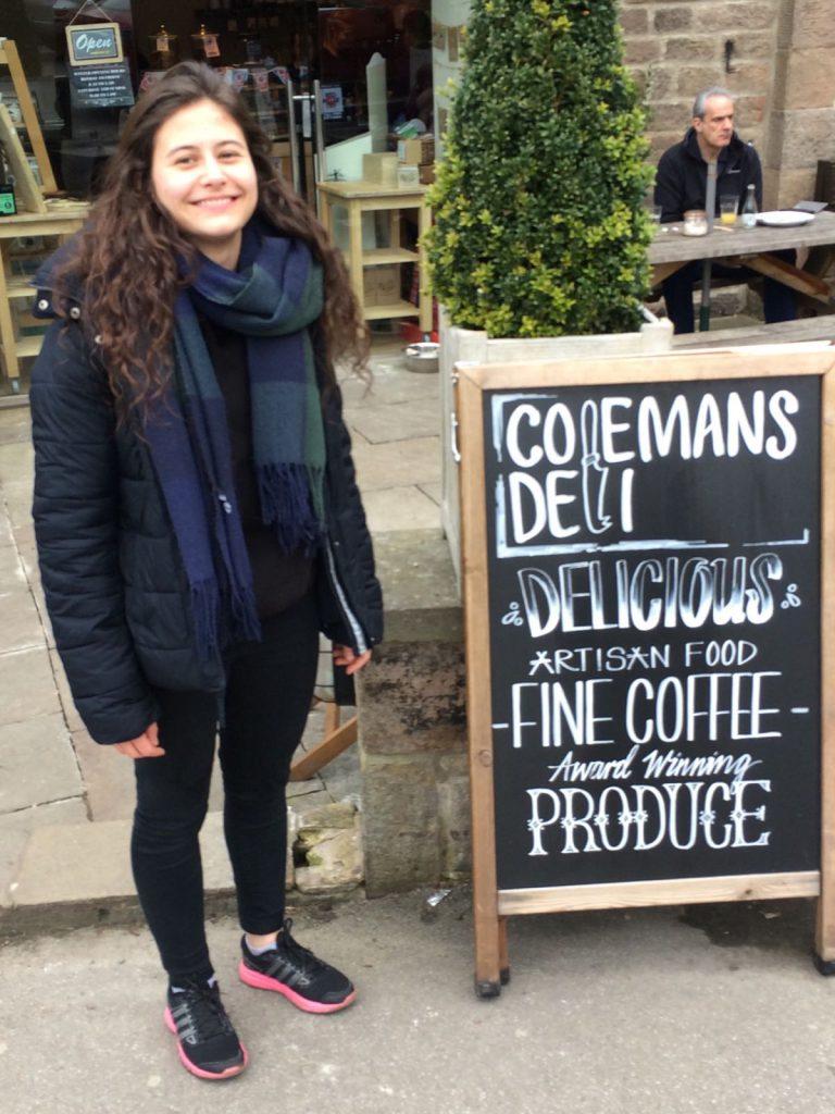 Meet Chloe our French Intern