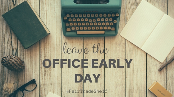 leave the office early