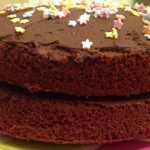 fair trade Chocolate cake