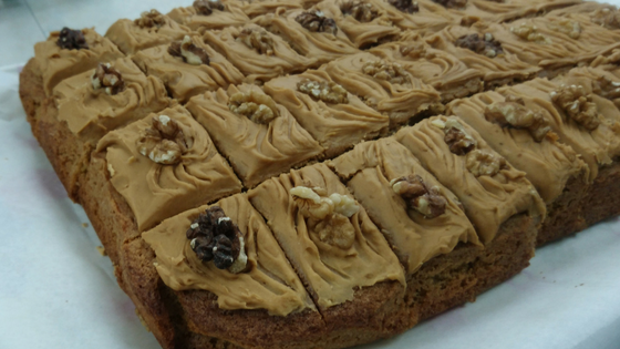 Fairtrade Coffee and walnut cake