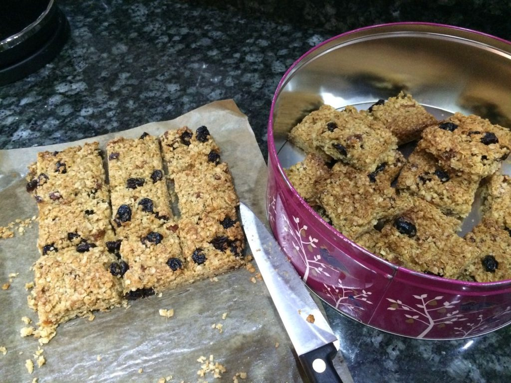 Fairtrade everyday in lent part two flapjack